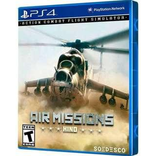 PS4 AIR MISSIONS HIND (R2 EUR)