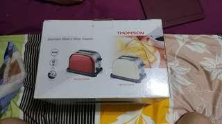 Thomson stainless steel 2 slice toaster