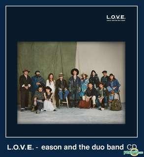 Eason and the duo band L.O.V.E 海報及襟針