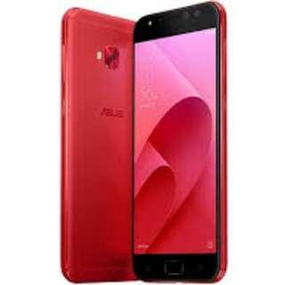 99.99%新 紅色Asus zenfone 4 selfie pro