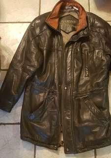 Saxony Mens Real Leather Jacket