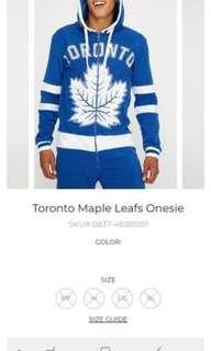 Toronto maple leafs onzie