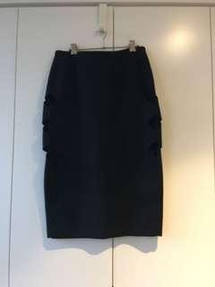 Dion Lee Mesh panelled Skirt