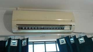 Used 1hp aircond Good working condition