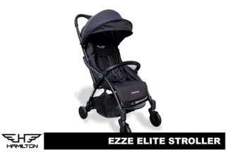 Hamilton Ezze Elite Magicfold Stroller (BLACK)