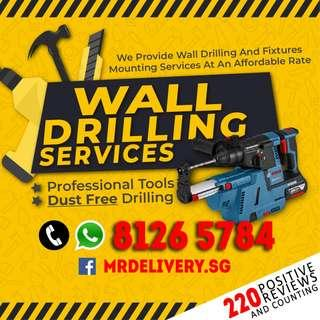Wall Drilling Services Handyman