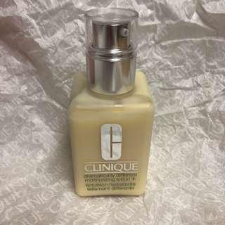 全新 125ml Clinique 黃油 dramatically different moisturizing lotion step 3