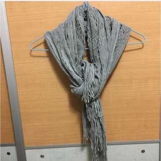 Grey Scarf 頸巾