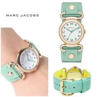 Marc by Marc Jacobs Watch MBM1306- Small Molly Minty Leather Ladies Watch