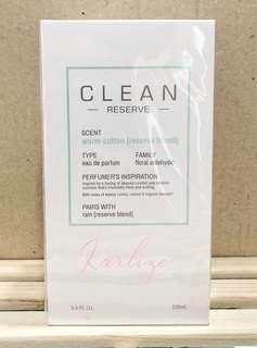 Authentic Clean Reserve Warm cotton Rain Skin