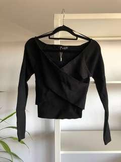 BRAND NEW Zara Knit Black