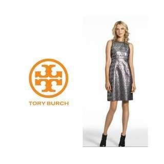 TORY BURCH Ryanne Metallic Dress