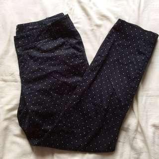 [G2000] Polka Dotted Trousers / Slacks.