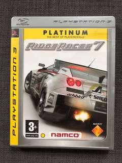 PS3 Ridge Racer 7 Game PS3遊戲