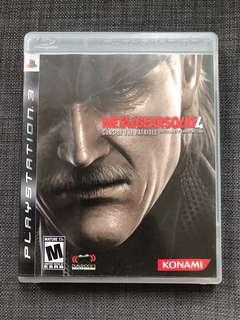 PS3 Game Metal Gear Solid 4 PS3遊戲