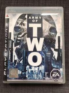 PS3 Game Army of Two PS3遊戲