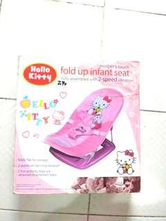 Hello Kitty fold up infant seat