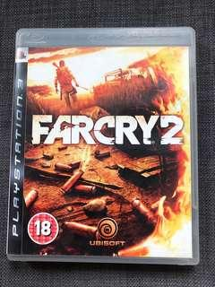 PS3 Game Farcry 2 PS3遊戲