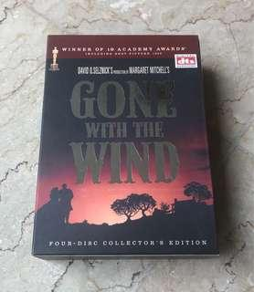 DVD Gone With the Wind - 4 dvd set