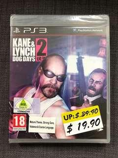 PS3 Game Kane & Lynch Dog Days 2 PS3遊戲