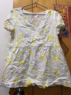 女裝上衣 黃色
