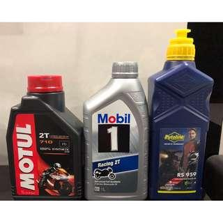 2T Oils available instock. PM us.
