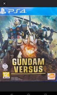 PS4 Gundam versus 中文版