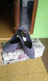 Brash Blue Flat Shoes