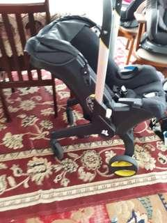 Stroller Carseat bouncer carrier, 4 in 1