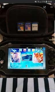 Ps Vita Slim with games