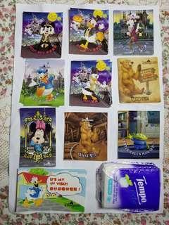 迪士尼貼紙 disney mickey minnie donald duck