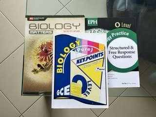 Biology textbook assessment