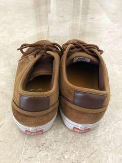 Brown VANS skate sneakers