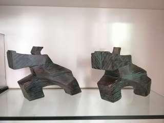 *** designer display wooden art