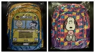 Peanuts bagpack for kids