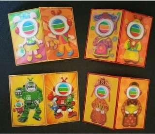 TVB TVBuddy Card Holder 3D 利是咭咭套八達通車票封套