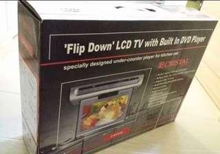 全新 原價1299  現300售出 (最後兩部)意大利品牌CRISTAL 廚房電視