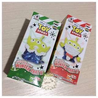 🚚 ||現||日本🇯🇵連線代購 迪士尼 玩具總動員 三眼怪 聖誕節限定 WCF 公仔 玩偶