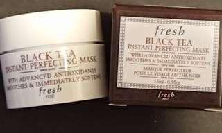 Fresh 紅茶瞬間修護面膜 Black Tea Instant Perfecting Mask 旅行裝/Sample [100%New]