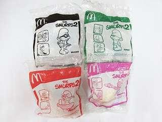 McDonald's The Smurf 2 Movie Combo 4