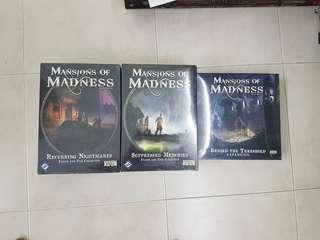 Mansion Of Madness 2nd ED Expansion Brand New Board Game