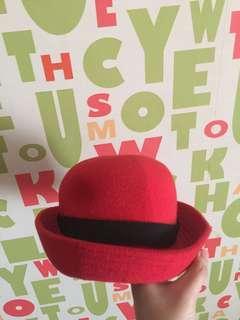 Bowler Hat Topi Caplin