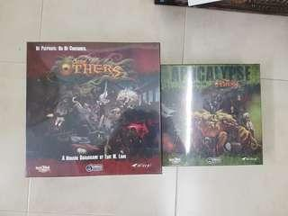 The Others and Apocalypse Brand New Board Game