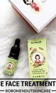 Acne Face Treatment Oil Roromendut