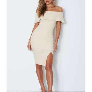 WHITE FOX BOUTIQUE Beige Dress