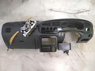 Panel trim meter radio Black Marble L7 Gino Kelisa