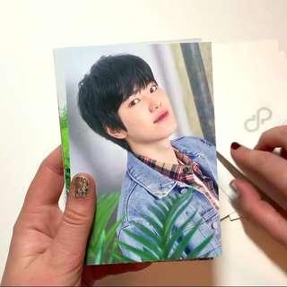 Infinite Season's Greetings Sungjong Postcard