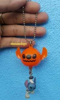 STITCH x Pumpkin Keychain Charm