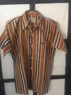 Newton Stripe Shirt Tenue de Attire looks like size M