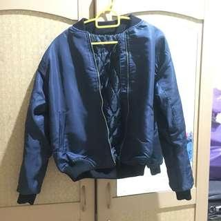 bomber jacket navy
